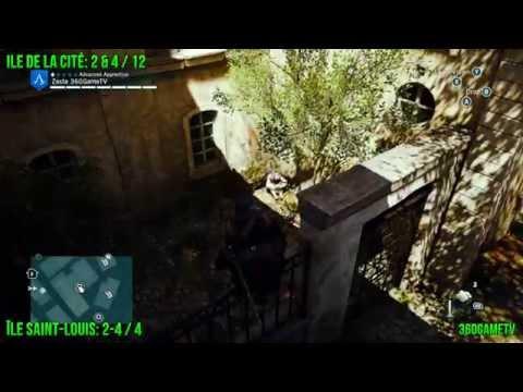 Assassins Creed Unity - All Cockade Locations - Ile de la Cité District - Tricolore Guide - Part 1