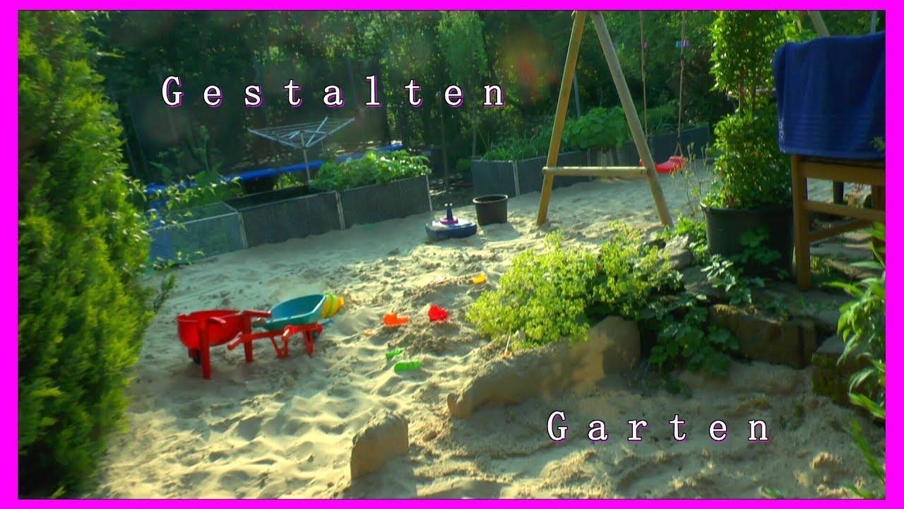 Garten Gestaltung mein schöner Garten auch für Kinder mit Spielplatz ...