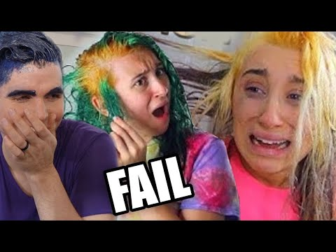 HAIR DYE FAIL (+ Personal Hair Dying Results!) by Brad Mondo