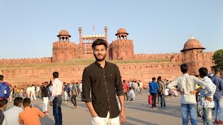 Delhi Vlog - Lal Qila, Jama Masjid, Chandni Chowk