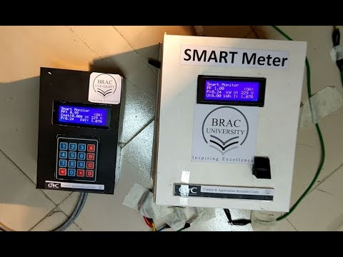 Real Time Monitoring and Controlled Power Distribution System with Smart Meter