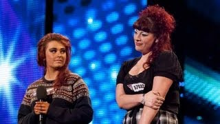 Like Mother, Like Daughter sing Plan B She Said - Britain's Got Talent 2012 - International version dinle ve mp3 indir