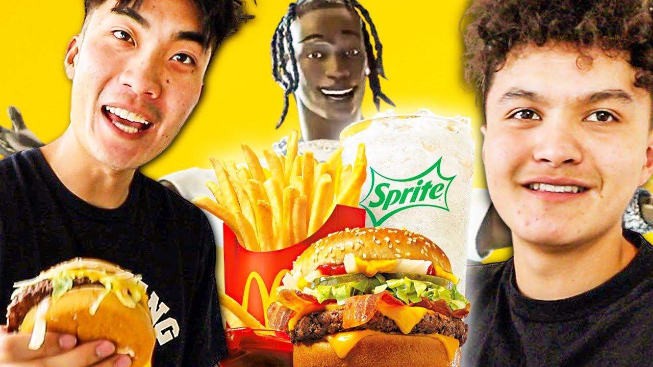 Download FaZe House Try The McDonald's Travis Scott Meal!