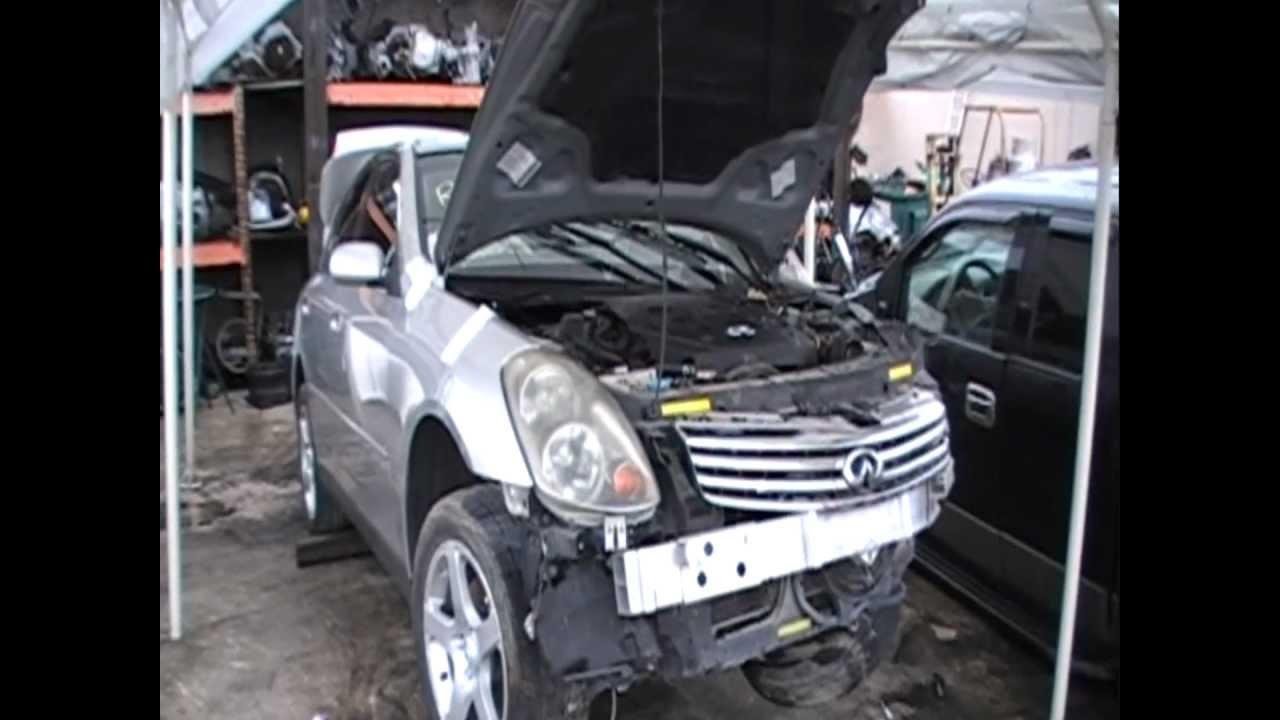 Wrecked 2004 infiniti g35 sedan rwd parts for sale youtube wrecked 2004 infiniti g35 sedan rwd parts for sale vanachro Gallery