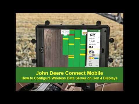 Connect Mobile: How to Configure Wireless Data Server on Gen 4 Displays