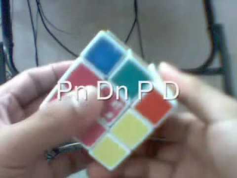 Huong dan cach xoay Rubik 3x3x3 (phan 1)