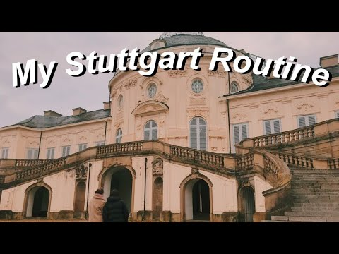 my Stuttgart routine | a day in the life of an exchange stud