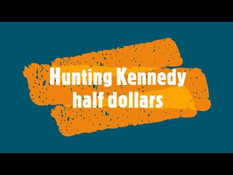Finding Silver While Hunting Kennedy Half Dollars. Coin Roll Hunting