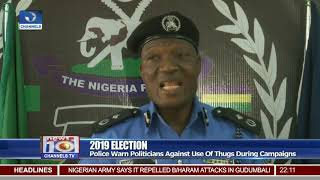 Police Warns Politicians Against Use Of Thugs During Campaigns