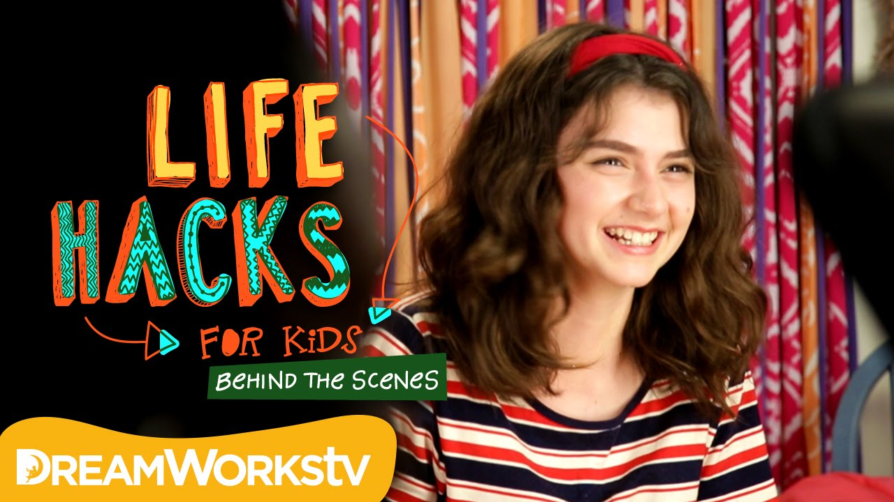 Life Hacks For Kids Behind The Scenes With Sunny