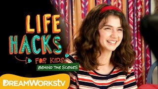 Life Hacks for Kids Behind the Scenes with Sunny | THE DREAMWORKS DOWNLOAD