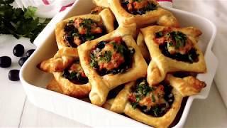 Слойки  Пиццы!!!Вкусно и Оригинально!*Pizza Puffs!!!Tasty and Original!