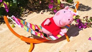 Свинка Пеппа и семья Свинов на даче - Видео для детей