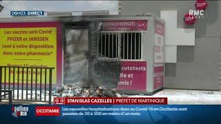 Covid-19 en Martinique: l'épidémie accélère, vives tensions face au retour des restrictions