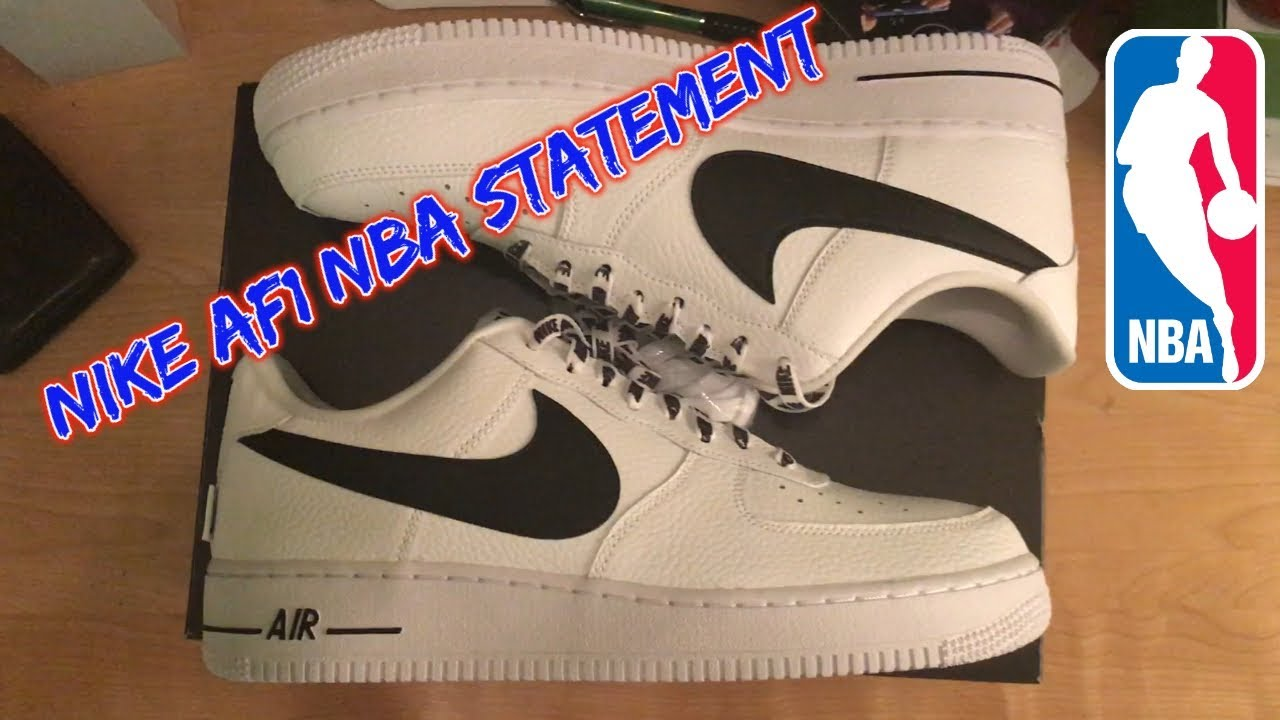 Nike Force Statement 1 UnboxingThoughtsCleaning Nba Air Low TF13cKlJ