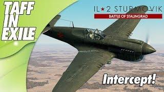 lL-2 Sturmovik Battle of Stalingrad | P40 Intercept Action!