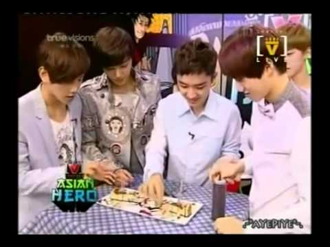 [Eng Sub][Full] 120809 EXO-K Channel [V] Asian Hero