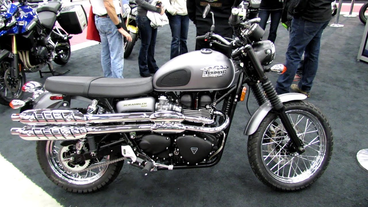 2013 triumph scrambler 900 walkaround 2013 quebec city motorcycle show youtube. Black Bedroom Furniture Sets. Home Design Ideas