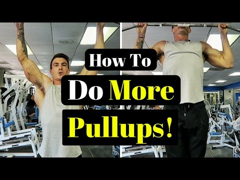 How To Do More Pullups 3 Simple Tips !