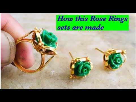 gold-ear-top-and-ring-set-making-with-green-rose-stone-l-24k-gold