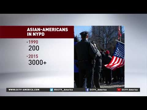 Increasing number of Asian Americans join New York City police force