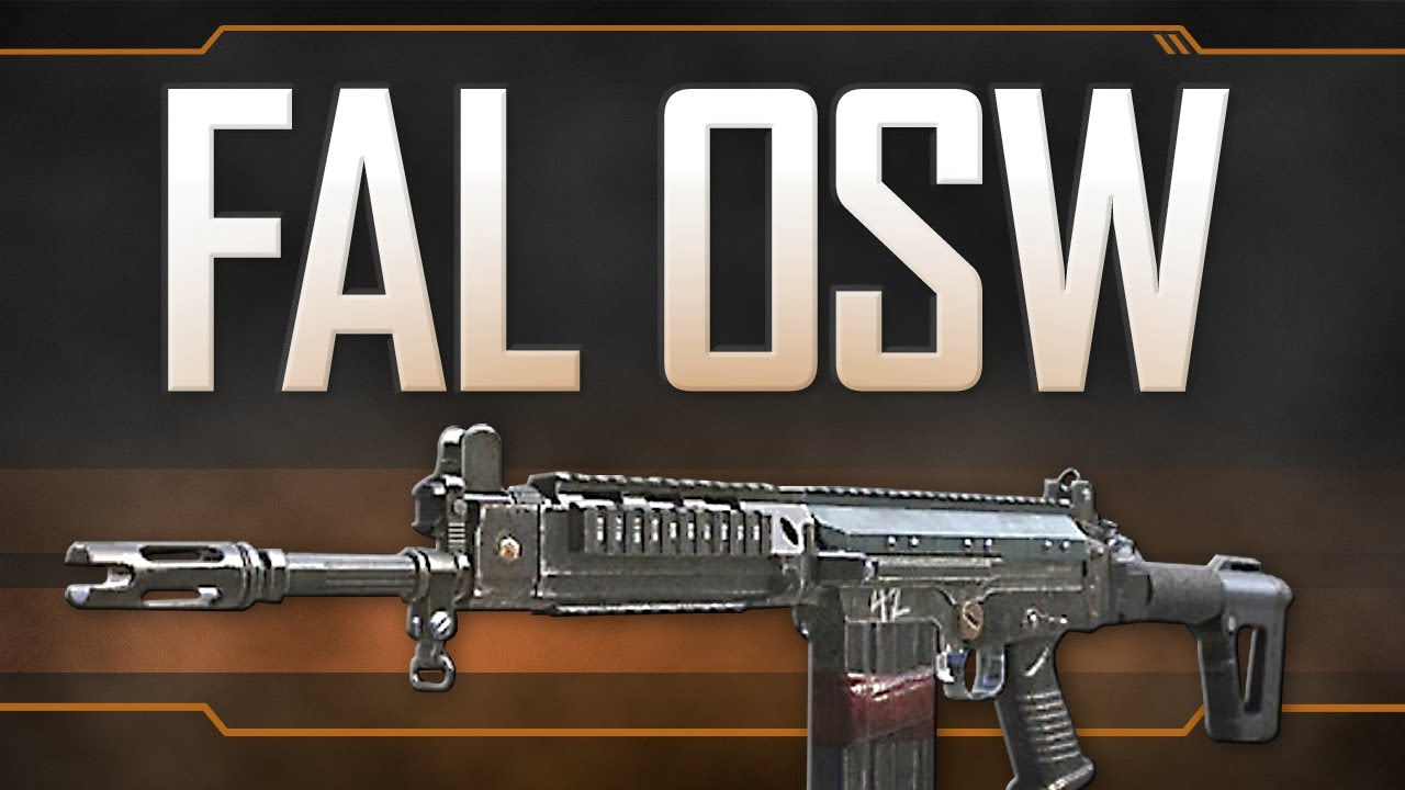 fal osw black ops 2 weapon guide youtube