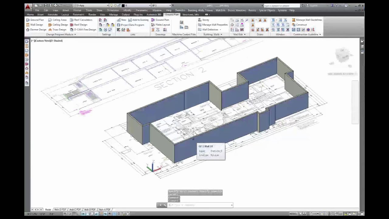 Dietrich 39 s 3d cad cam software chapter 3 2d to 3d for Software cad 3d