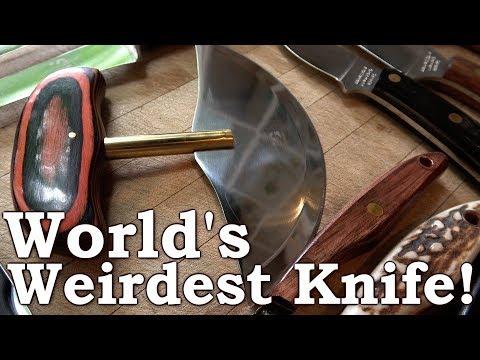 World's Weirdest Knife! | $2000 Worth of Grohmann Knives | Best for Bushcraft & Survival