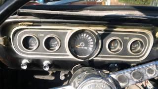 1966 Mustang walk around and startup