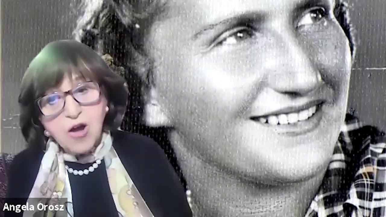 BESZÉLGETÉS ANGELA OROSZ-RICHTTEL VIDEÓ