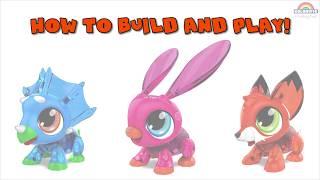Build Animals Интерактивная игрушка-конструктор Робот Кролик