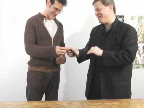 NYC magician Michael Chaut