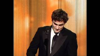 Joaquin Phoenix Wins Best Actor Motion Picture Musical Or Comedy - Golden Globes 2006