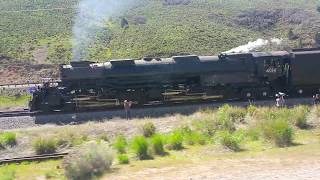 5 Raw minutes of pacing UP 4014 through Echo Canyon