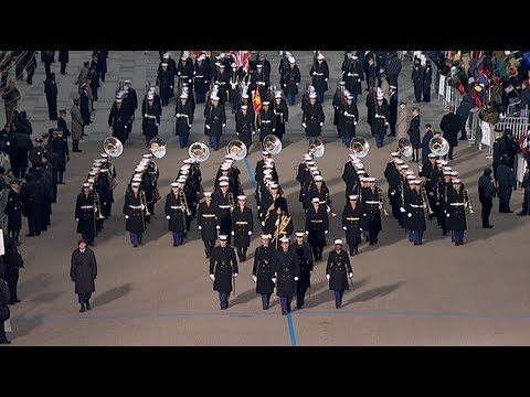 Marines Support the 57th Presidential Inaugural Parade