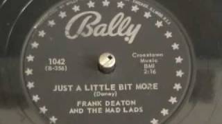 Frank Deaton and the Mad Lads  Bally  78rpm