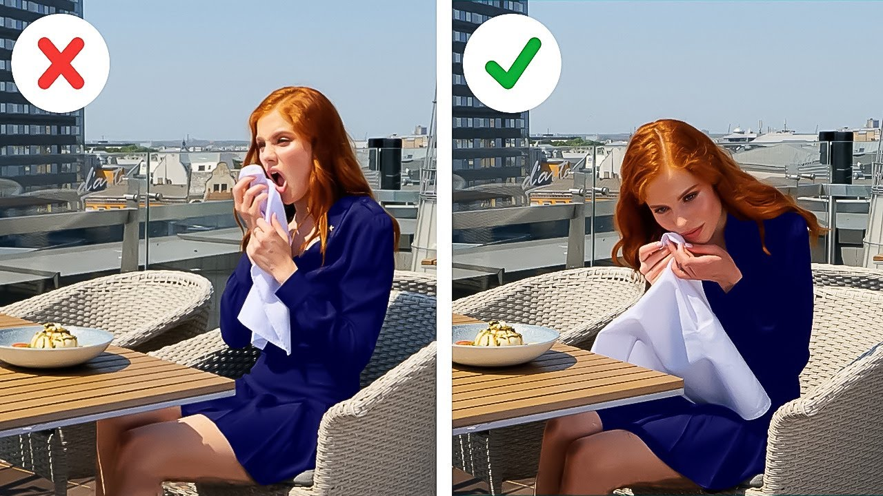 Etiquette Rules In Public Places || Simple Hacks to Avoid Embarrassing Situations!