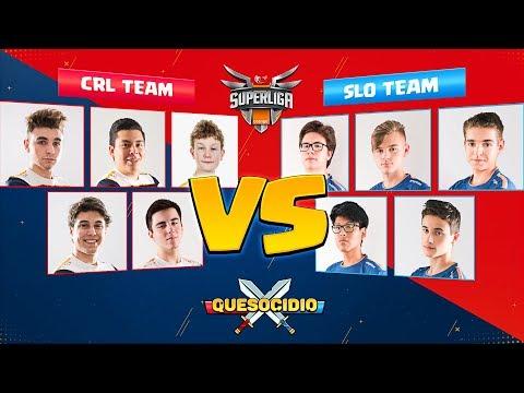QUESOCIDIO CRL vs SLO | Team Queso - Clash Royale