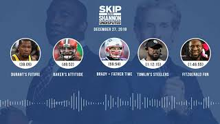 UNDISPUTED Audio Podcast (12.27.18) with Skip Bayless, Shannon Sharpe & Jenny Taft | UNDISPUTED