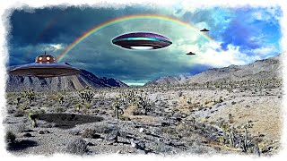UFO Packs Are Moving Over the Las Vegas And Sheep Mountain Ranges