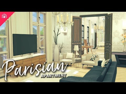 The Sims 4: Speed Build | Parisian Apartment + CC Download & Links