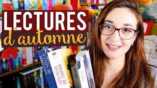 MES LECTURES D'AUTOMNE 🍁 Myriam