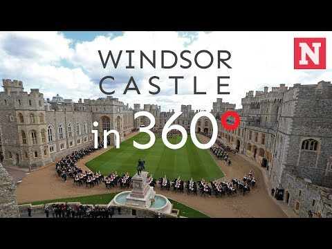 Windsor Castle: 360° Video Of The British Royal Family Home