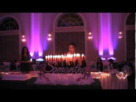 Samantha S Sweet Sixteen Candle Ceremony Youtube