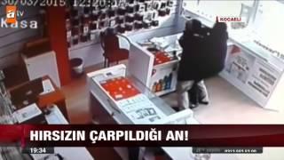 Hırsızın çarpıldığı an! - 01.04.2015