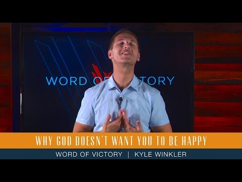 Why God Doesn't Want You to Be Happy