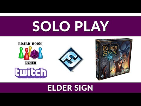 Solo Play Monday -  Elder Sign