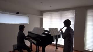 山崎まさよしの「One more time,One more chance」をリコーダーとピアノ...