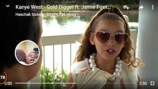 Gold digger Kanye west hashtag sister sing