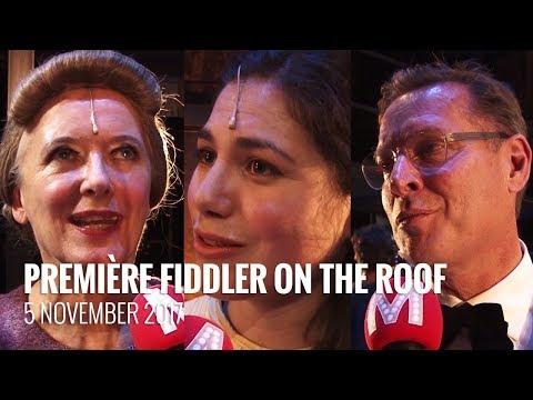 Première Fiddler on the Roof in het DeLaMar Theater
